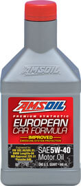 AMSOIL European Car Formula 5W-40 Improved ESP Synthetic Motor Oil