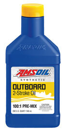 AMSOIL Outboard 100:1 Pre-Mix Synthetic 2-Stroke Oil