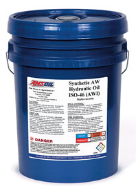 AMSOIL Synthetic Anti-Wear Hydraulic Oil - ISO 46