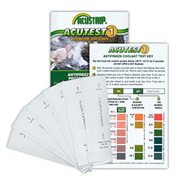 AMSOIL Antifreeze Test Strips
