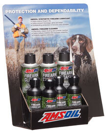 AMSOIL Firearm Point-of-Purchase Display